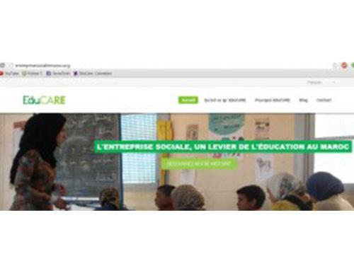 LANCEMENT DES ENTREPRISES SOCIALES «EduCARE» – 14 novembre à Rabat